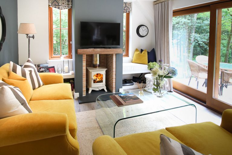 The Lounge and Wood Burning Stove